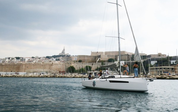 Sailing from the Old Port of Marseille