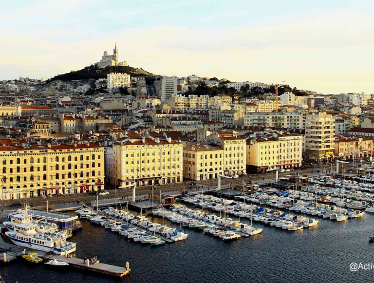 Discover Marseille before a cruise on the Mediterranean